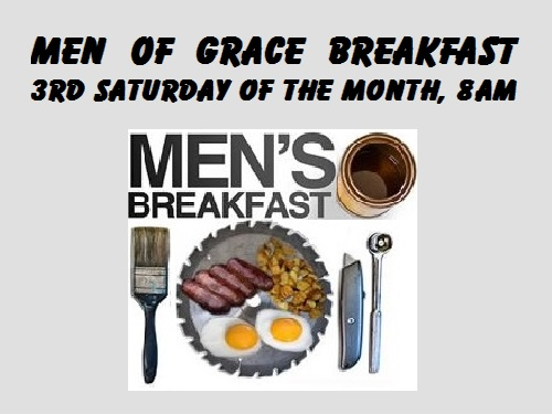 Men Of Grace Breakfast @ True Grace Fellowship Church - Fellowship Hall