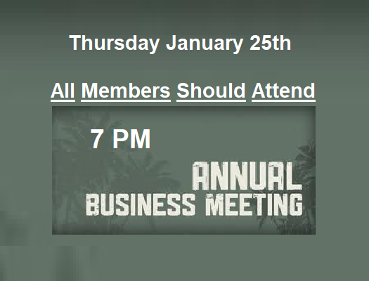 Annual Membership Business Meeting @ True Grace Fellowship Church