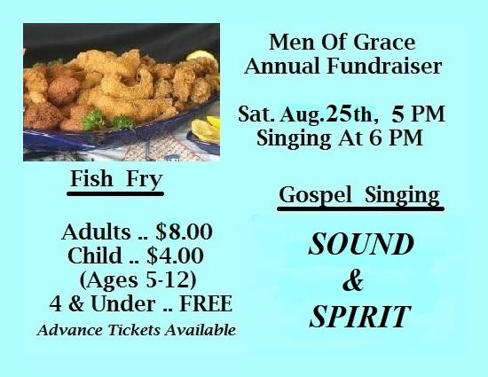Fish Fry & Gospel Singing @ True Grace Fellowship Church
