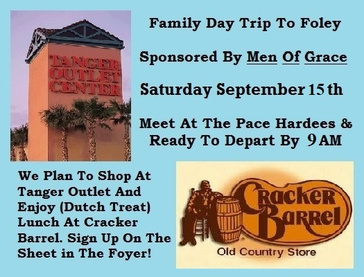 Family Day Outing @ Trip To Foley, AL