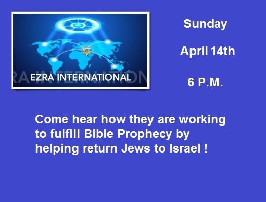 Ezra International @ True Grace Fellowship Church