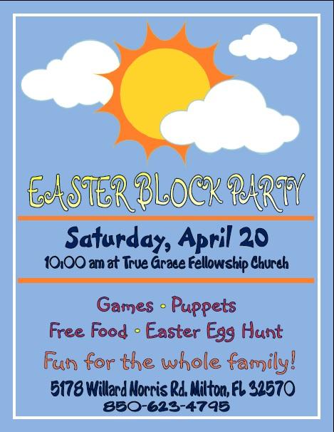 Easter Block Party @ True Grace Fellowship Church