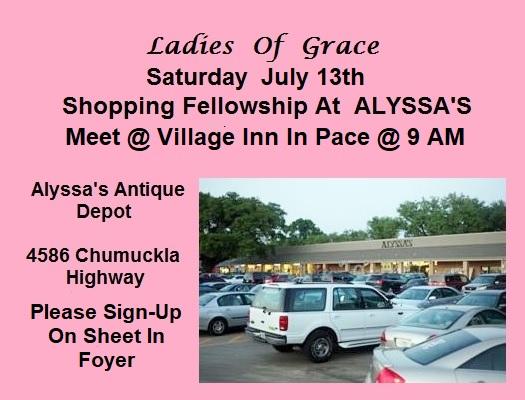 Ladies Of Grace Day Out @ Village Inn & Alyssa's