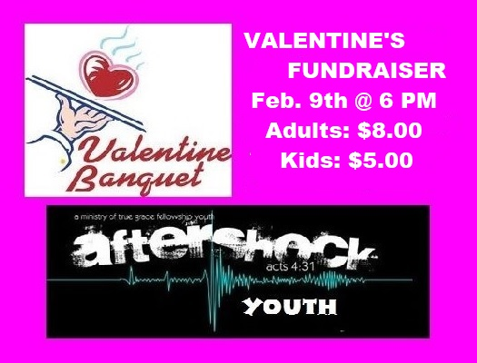 Valentine's Youth Fundraiser @ True Grace Fellowship Church