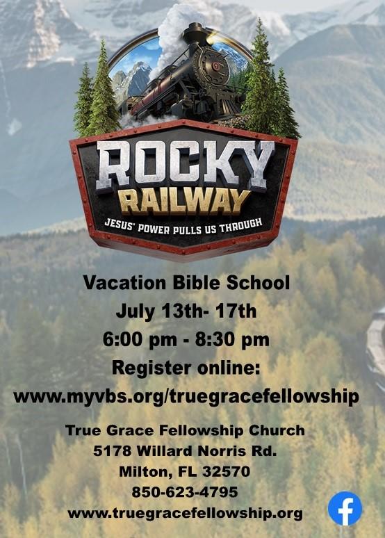 Vacation Bible School (VBS) 2020 @ True Grace Fellowship Church